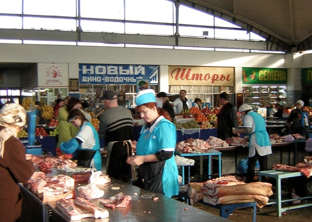 New Market in Barnaul