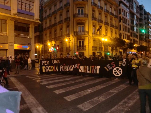 Valencia Spain, March 29, 2012