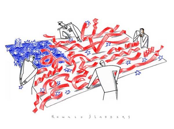 editorial-cartoon-USA-war-flag